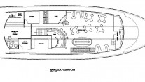 MV Orion Main Deck Floor Plan