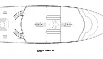 MV Orion Sun Deck Floor Plan