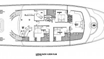 MV Orion Upper Deck Floor Plan