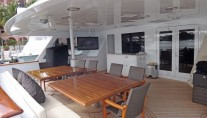 MY CLAIRE - Aft deck