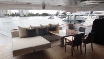 MY CLAIRE - Main aft deck view