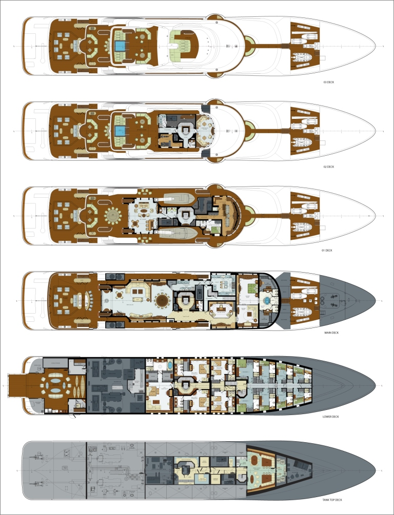 Layout Image Gallery - Luxury Yacht Gallery Browser