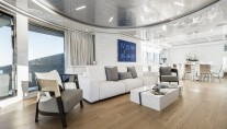 MY Destiny main deck salon - Interior design Luxury Projects - Laura Pomponi