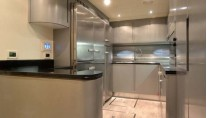 MY GINGER Pershing 115 -  Galley