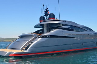 MY GINGER Pershing 115 -  On Charter