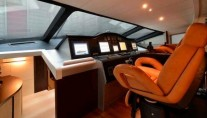MY GINGER Pershing 115 -  Wheelhouse