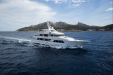 Luxury motor yacht GO