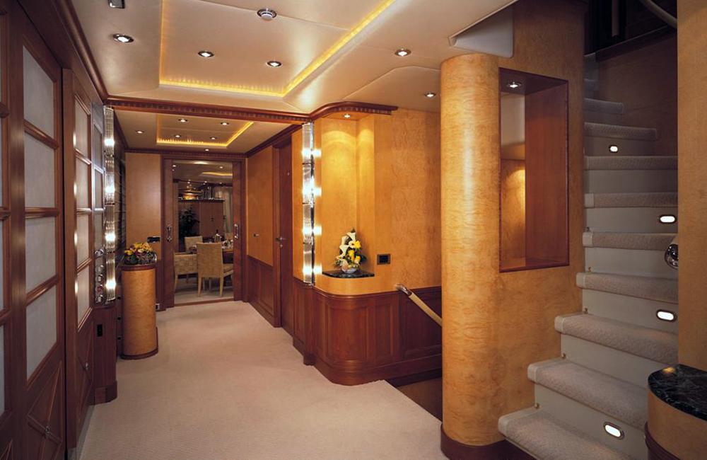Foyer Luxury Yachts : My kanaloa guest foyer luxury yacht browser by