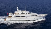 Benetti Charter Yachts in Adriatic Sea