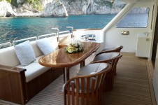 MY LADYSHIP - Main deck seating