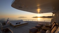 MY LIBRA Y- Sunset on sundeck