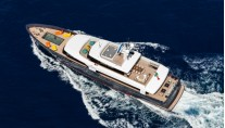 MY LOGICA superyacht from above - Gentini