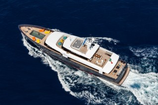 MY LOGICA superyacht from above - G.Sargentini