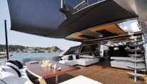 MY MIRAGE -  Aft Deck