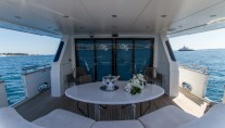 MY MISS CANDY - Aft deck