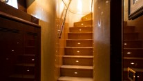MY MISS CANDY - Stairs to guest cabins