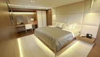 MY OURANOS - Master cabin