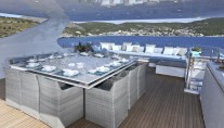 MY OURANOS - Sundeck dining