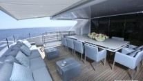 MY OURANOS - Upper aft deck