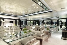 MY SILVER ANGEL - Salon on main deck