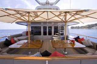 MY SILVER DREAM - Bridge deck dining