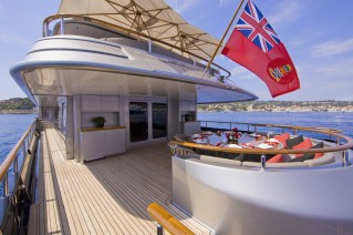 MY SILVER DREAM - Main deck aft
