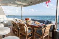 MY TEMPTATION - Aft deck