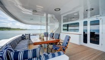 MY THEMIS - Main aft deck