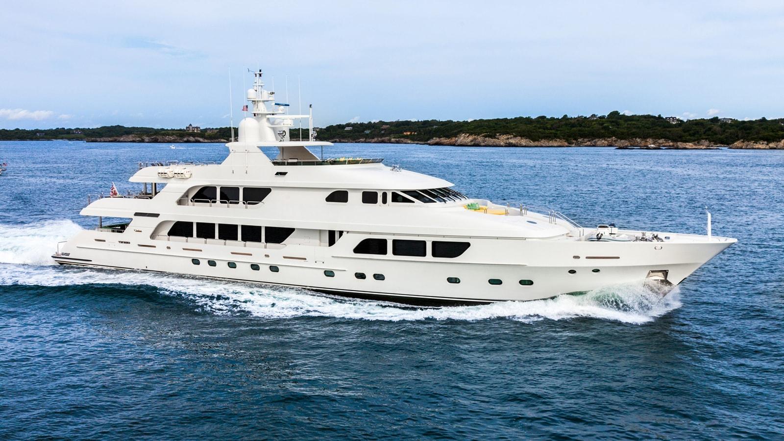 Motor Yacht: A Christensen Superyacht