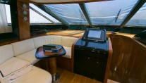 MY ZIA CANAIA 80S - Wheelhouse seating