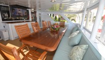 MYGOOD TIMES - Aft deck