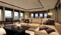 Main Salon of Feadship Motor Yacht Helix