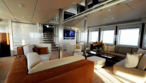 Main Salon of Motor yacht Basmalina II ex Project Sunbeam