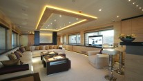 Main salon on board of yacht Tatiana by Bilgin Yachts