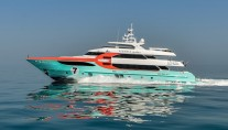 Majesty 135 luxury yacht Sehamia