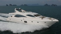 Majesty 88 Superyacht - Profile