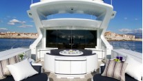 Mangusta 108 FOUR FRIENDS -  Aft Deck