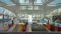 Mangusta 80 MR M -  Salon looking Aft