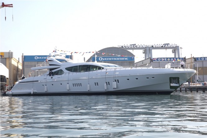 Motor Yacht Mangusta 165 hull 7