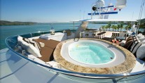 Marathon yacht - now Lady Janet yacht - Spa Pool