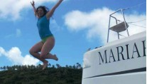 Mariah Jumping off