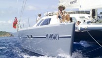 Marmot - Bow underway