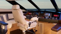 Marquis 720 Fly Yacht - Wheelhouse