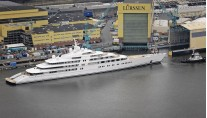 Mega yacht AZZAM by Lurssen - Photo by Klaus Jordan