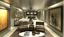 Mega yacht SYBARIS - Master Cabin - Photo by PH Design-001