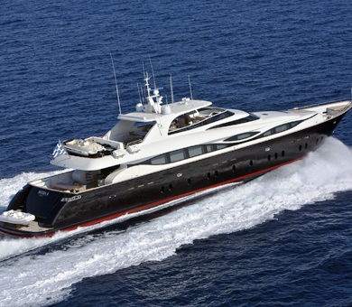 Luxury yacht �MELINA C