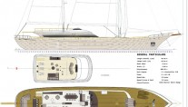 Mengi-Yay NB85 Yacht - Layout