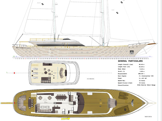 Sailing Yacht NB85
