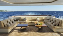 Mirgab VI Motoryacht outdoor relaxation spaces