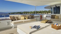 Mirgab VI Yacht by Hakvoort offers great outdoor spaces for relaxation